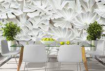 Flower Wall Decor / Wprowadź powiew świeżości do swojego domu przy użyciu florystycznych dekoracji ściennych!