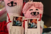 VanessasCare2Knit / Knitting, crafting, animal toys, stuffed toys, children's toys, hand knitted, pet toys, children