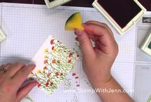 Wild About flowers card- video