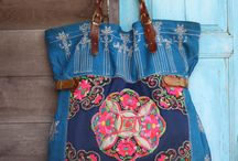 upcycled denim bags and more