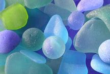 SEA GLASS / Worn smooth only by the natural forces of the sea!