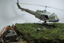dioramas guerra colombia