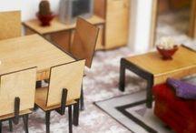 Mini Doll House & Furniture