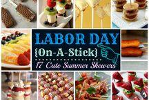Labor Day Decor & Recipes / Labor Day Food, Ideas & Decor