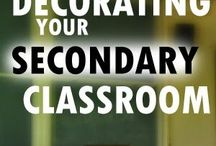 Classroom Organization/Decoration