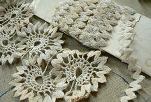 Crocheting ricrac