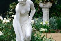 Kerti szobrok,miliők l Garden sculptures