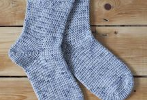 Crochet Socks Patterns / Find super socks, snuggly slippers, lovely leg warmers, and a whole range of crocheted footwear patterns here. In a huge variety of styles, for all ages!