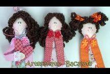 video marcador pagina boneca