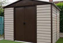 Yardmaster Metalshed / Award-winning manufacturer and distributor of long lasting outdoor storage solutions for your garden. #metalsheds