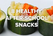 After school snacks and lunchbox ideas