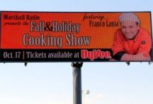 HyVee Fall & Holiday Cooking Show / Advertisement for or the Fall & Holiday cooking Show for HyVee in Marshall, Minnesota.