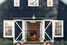 Barns Homes & Farm Houses / Barn Home Interiors & Farm Houses are Trending At Noir Blanc Interiors