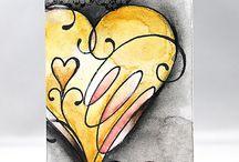 Kresba srdce