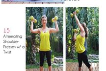 Upper Body Exercises / by Dianne Lebold