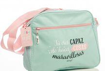 Escolar / Material escolar para los estudiantes de la casa: mochilas, estuches, etc. con diseños infantiles y juveniles llenos de color.