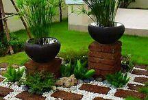 jardín Luz