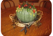Pumpkin Craft with Plants / Using pumpkins and gourds for floral design. / by National Garden Clubs, Inc.