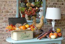 fall / fall decorations / by marilyn jackson