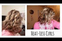 hair curls no heat