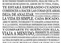 Filosofía de vida! / by Wa QV