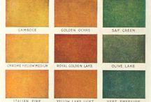 Color sequence / Подборка сочетаний цветов