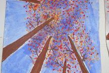 drzewa z dołu