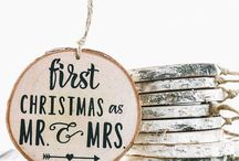 First Married Christmas / Ideas for your first Christmas together as newlyweds!