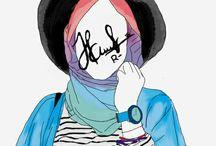 Hijab illustration