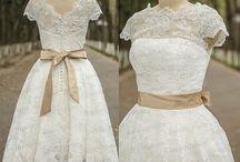 Brudekjole kortliste