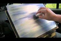 video water colors, oil paints, acl