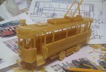 Pasta Model Train