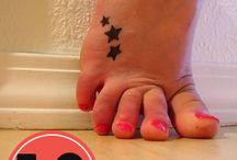 tatoo para pies