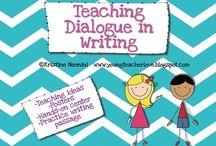 Writing Dialogue / Notes for Writing Dialogue