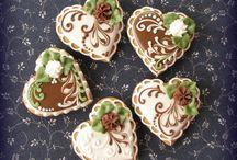 Royal Icing: kekszek, virágok, stb.