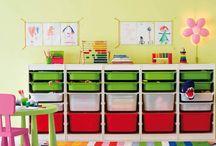 Playroom organization / by Christy Nottingham