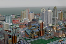 Sim City / The beautiful virtual SIM city. Will post new picture from time to time here... Do you play Sim City?
