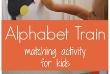 ABC & 123 / Everything alphabet & numbers. If it helps kids learn their alphabet and numbers, pin it here. 5 pins per person per day. Want to pin with me? Follow the board and e-mail me: intherightmeasure@gmail.com
