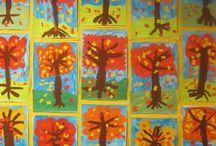 elementary fall art
