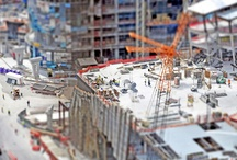 Miniaturize the World / I travel the world, take photos and then tiltshift them using Photoshop.