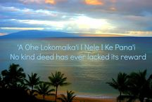 Hawaiian Time Proverbs / Hawaiian Proverbs