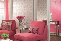 P!nk Home Decor Inspiration / by Fashion.MakeUp.LifeStyle