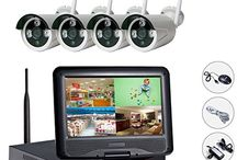 WIFI NVR security monitoring system