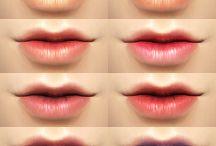 TS4 lips