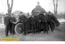 WW1 and interwar military vehicles