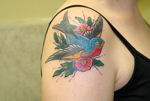 beautiful bird tattoos / by Tammy LaCoursiere