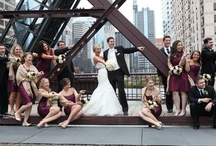 Kinzie Bridge / #KinzieBridge #ChicagoWeddingPictures