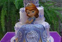 τούρτες γενεθλίων Πριγκίπισσα Σοφία / παιδικά χαμόγελα!!