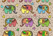 elefantes indianos