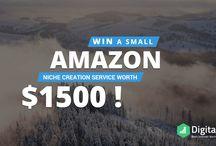 Amazon Niche Creation Service Giveaway